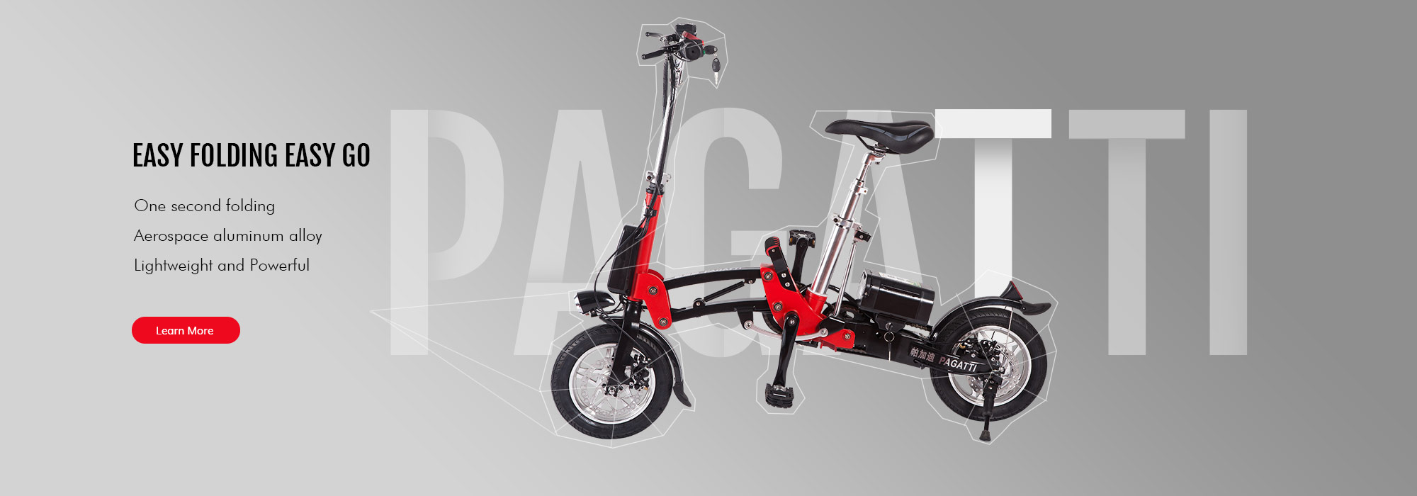 lithium folding e-bicycles