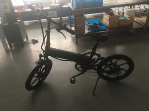 Folding electric frredom bicycle for men